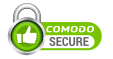 Our site is secured by Comodo SSL - see interactive verification in the site footer for more details.